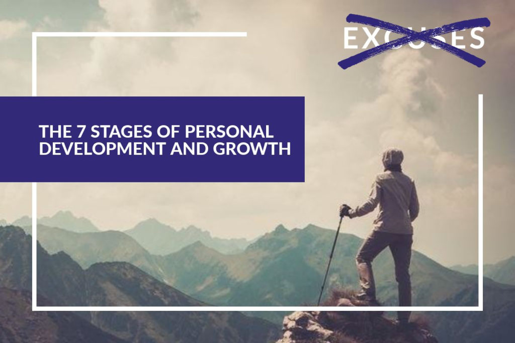 The 7 stages of personal development and growth
